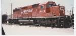CP Rail 5853 at Cherokee Yard