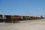 7 locos departing