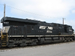 NS 7589 sitting in the BNSF's Cherokee Yard