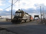 NS 3426 delivers PLRX 2009 to the NYS&W