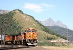 Impressive scenery, impressive mountain railroading