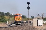 Three views of BNSF 7704-I