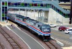 Amtrak 40th Anniversary Special in St. Louis, MO