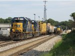 CSX 6116 & 6364 lead D907-01 west past G010