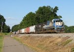 GMTX 9041 (ex-EMD 3) pulling from the siding in Trussville
