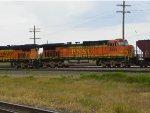 BNSF C44-9W 4555