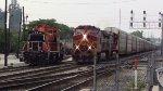 BNSF 754, 781 & IHB 1520