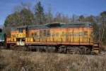 HRT 6525 (GP9) One of the last remaining Chessie Units