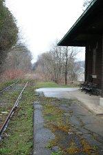 Greene station platform