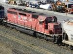 DM&E EMD SD40-3 6075