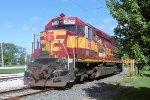 """One of the more """"modern"""" pieces of equipment is this Wisconsin Central SD45"""