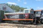 Sitting outside one of the storage bars was this beautiful 1950-built EMD SW-7