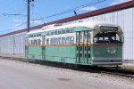 Offering rides around the grounds this day was this 1948 built PCC car