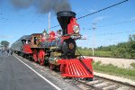 The Leviathan, a rreplica of the original, was built in 1999 making it America;s newest operating steam locomotive
