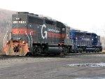 MEC EMD GP40 312 & EMD SD40M-2 611