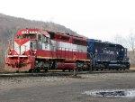 MEC EMD SD40M-2's 618 & 611
