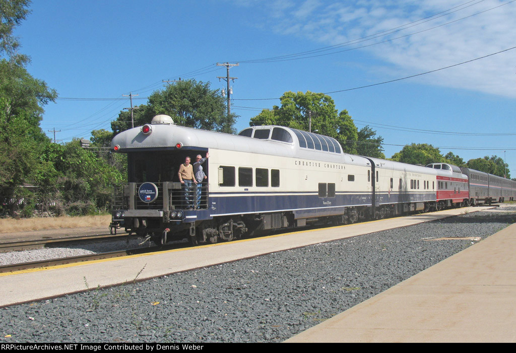 Amtrak 8, With  PV's.
