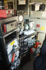 Inside the cab of NS 4610