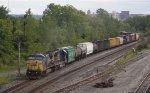 Westbound freight