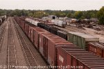 Mixed Freight and assorted rolling stock in Greenville SC