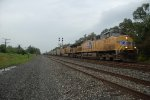 loaded sommerset coal train with union pacific power