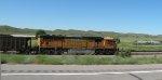 BNSF 9933 in Nebraska Sandhills