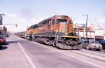 Street Running Fort Collins - BNSF 7860 East