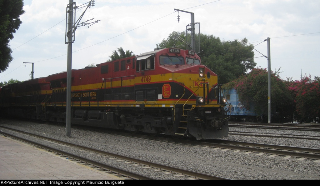 KCSM Loco passing by Station