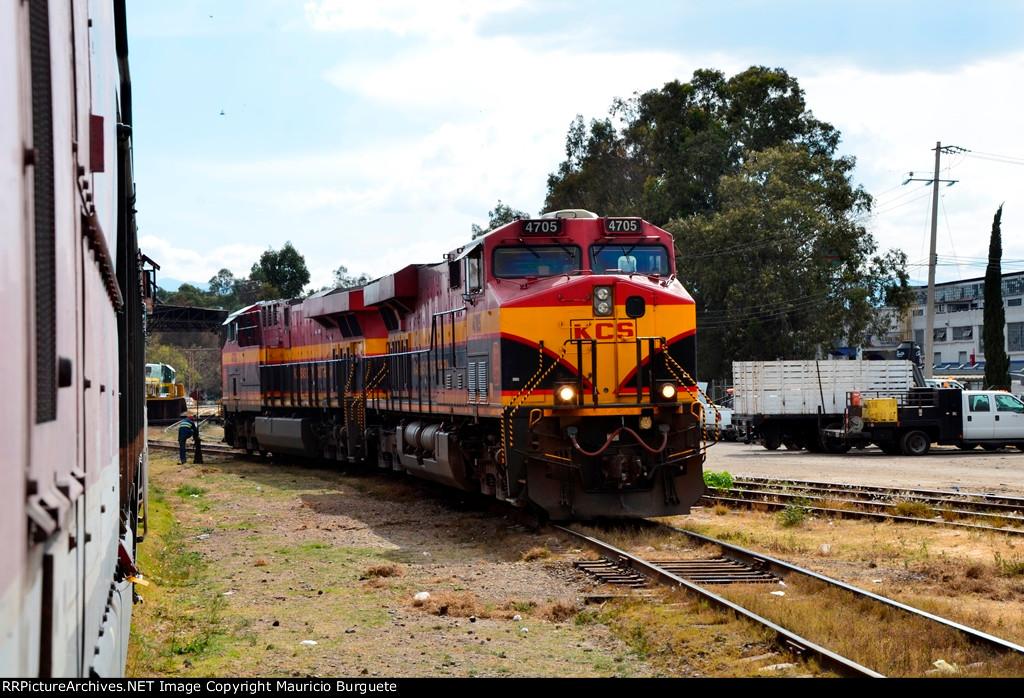 KCS GEVO Locomotives