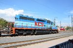 KCSM SD40 at Queretaro station