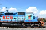 KCSM SD40 with Blue FNM paint scheme