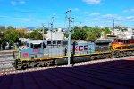 KCSM AC4400 Confederate scheme locomotive