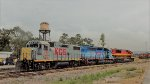 KCSM locomotives at Valle de Mexico Terminal