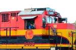 KCSM Super 7 Locomotive detail