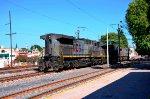 AC4400 locomotives on Queretaro's yard