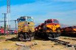 KCS & KCSM Locomotives at Ferrovalle yard