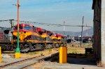 KCSM Locomotives at Ferrovalle yard