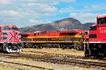 KCS ES44AC Locomotive at Ferrovalle yard