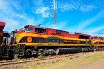 KCSM SD70ACe Locomotive