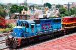 KCSM SD40 with Blue paint scheme