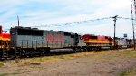 KCSM and KCS Locomotives at Ferrovalle yard