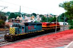 KCSM locos, SD40-2 and Super 7