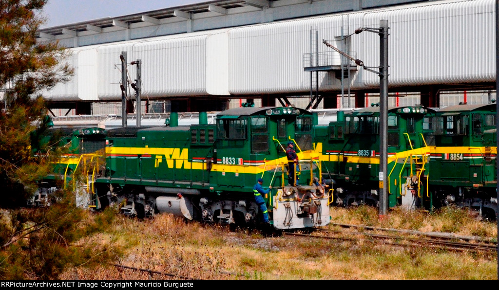 FTVM SW1504 Locos at yard