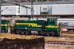 FTVM SW1504 Loco at Valle de Mexico Terminal