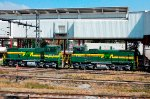 FTVM SW1504 Ecologic locos at Terminal