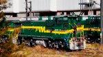 FTVM SW1504 Loco at yard