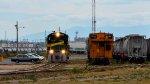 FTVM B23-7 Locomotive on the yard