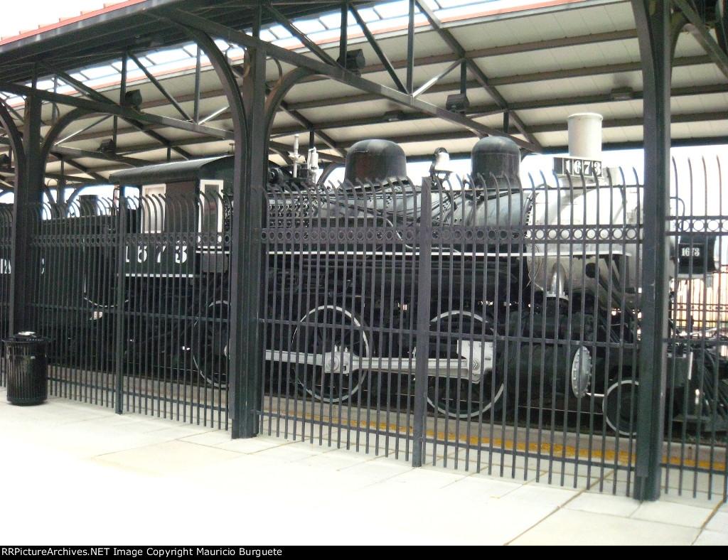 Old steam SP loco