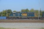 CSX 4020 headed for Tilford Service Center