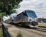 The Southwest Chief heads through Plano